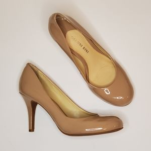 Gianni Bini patent nude pumps size 7.5 like new